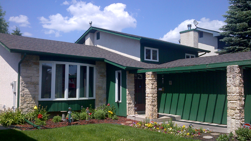 Home front roofing